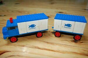 LEGO : camion frigorifique avec remorque type N° 375