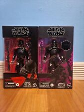 Star Wars: Black Series Purge Trooper  E7206 and Electrostaff Purge Troop E9993