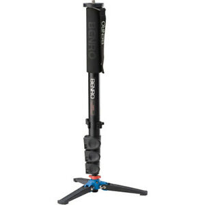 Benro A38FD Series 3 Aluminum Monopod with 3-Leg Locking Base - Photography