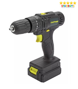Cordless 14.4V Drill Driver Screwdriver 10mm Chuck with Li-ion Battery & Charger