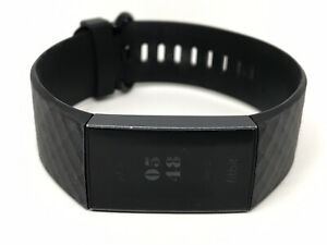 Fitbit Charge 3 FB409 Graphite Black - No Charger - Tested