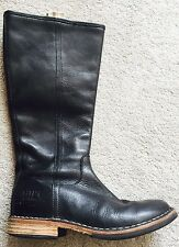 Beautiful Italian Hand Made Real Leather Boots Size UK1 / EU31 RRP:£95