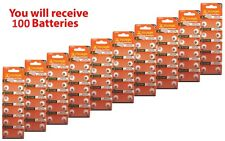 100x Tiantan AG0 Alkaline Button Watch Batteries 379 LR521 SR51SW SR63 USA