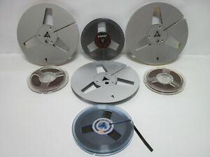 Lot de 7 bobines bandes Magnétiques pour Magnétophone