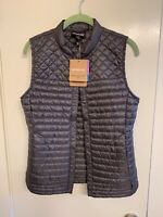 NEW Patagonia Women's Coastal Valley Vest Forge Gray Small S