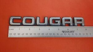 Original 1989-1992 Mercury Cougar-Cougar Emblem-Badge