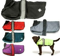 "ULTIMATE 2 IN 1 DOG COAT - (10"" - 30"") - Danish Design Jacket PawMits dd Harness"