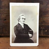 c.1860 'REV. JOHN BIRT' LANCASTER CDV CARTÈ DE VISITÈ BY JAMES MUDD MANCHESTER