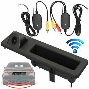 Wireless Reversing Rear View Camera Boot Handle For BMW 3 4 5 Series F30 F31 F34