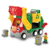 Flip n Tip Fred from WOW TOYS, Garbage Truck Toy for 1yrs+, Hassle Free Package