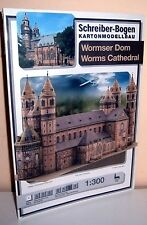 KARTONMODELLBAU WORMSER DOM  Schreiber- BOGEN  706