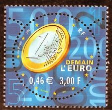 TIMBRE FRANCE NEUF N° 3402 ** DEMAIN L'EURO