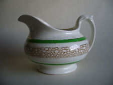 Vintage Newhall Pottery Sauce / Gravy Jug Boat 1930s