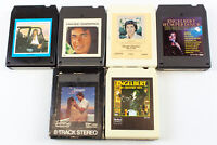 Engelbert Humperdinck: Easy To Love, After the Lovin' & More (6) 8 Track Tapes