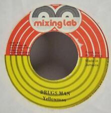 "Yellowman(7"" Vinyl)Drugs Man-Mixing Lab-ML 2625-Jamaica-VG/VG"
