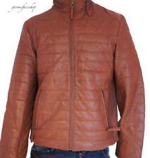 Ropa de hombre en color principal marrón de piel talla L