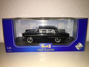 1:18 Revell Opel Kapitän black NEW bei PREMIUM-MODELCARS