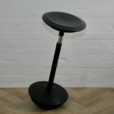 Wilkhahn Stitz Sitz Stehhilfe Design Black leather Stehhocker Ergonomic stool