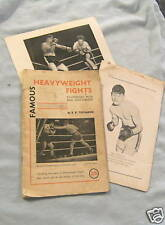 #AA. HEAVYWEIGHT BOXING BOOKLET - about 1950