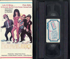 EL ROPAVIEJERO VHS Sexy Mexican Comedy! RARE! Spanish Only!
