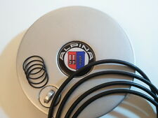 Seals for BMW Alpina wheel hub cover and lock cover