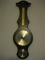 Wetterstation Thermometer Barometer Hygrometer Holz