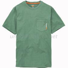 Timberland PRO Pocket T Shirt Men Wicking Base Plate Short Sleeve T Shirts A1HNS