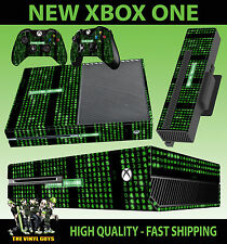 XBOX ONE CONSOLE STICKER MATRIX CODE SYSTEM FAILURE SKIN & 2 PAD SKINS