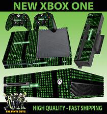 Xbox One pegatinas consola Código de la matriz de falla del sistema Skin & 2 Pad Skins