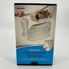 Radio Shack 63-1163 Ultrasonic Cleaner Stain Remover Fabric Cleaning Machine NIB