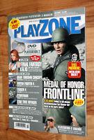 2002 Playstation Magazin Metal Gear Solid 2 Final Fantasy X Medal of Honor Turok