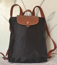 Authentic New Longchamp Le Pliage Backpack Black