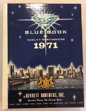 VINTAGE BENNETT BROTHERS BLUE BOOK OF QUALITY MERCHANDISE 1971