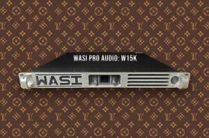 WASI W15K Touring Power Amplifier / 3 Year Warranty
