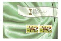 MAD378) Australia 2010 150th Anniv. Melbourne Cup Booklet Pane MUH