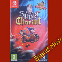 SUPER CHARIOT Royal Gadget Pack - Nintendo Switch ~3+ Brand New & Sealed!