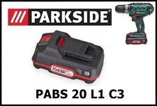 Bateria Taladro Atornillador Parkside 20v Li PAP Battery Drill PABS 20-Li C3