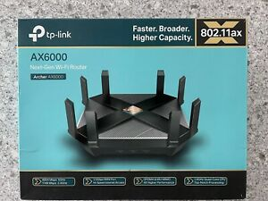 TP-Link Archer AX6000  Router - Dual Band - WiFi 6 (USED) Great Condition