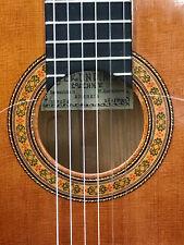 Gerundino Fernandez 1998 flamenco guitar