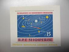 ALBANIE, Astronomie Space Exploration, 2 blokjes, 1964, postfris/MNH TOP/ZELDEN