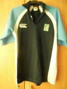 Size 10-12 3 for a Girl Womens Irish Polo Rugby Shirt-Green