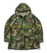 US Military ORC Industries Woodland Camo Improved Rainsuit Parka Jacket M NEW
