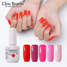 Clou Beaute Soak Off Varnish Base Top Coat Gel Nail Polish Nail Art 15ml Gelish
