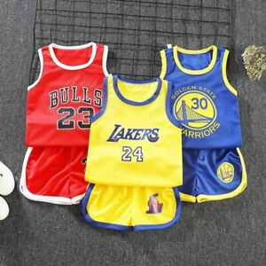 Summer Kids Baby Boys Basketball Clothes Child Boy Sports Outfits Sets Clothes