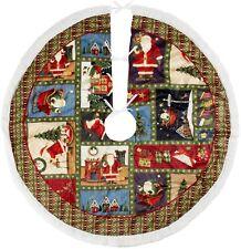 "Debbie Mumm Winter Wonderlands Tree Skirt 48"" ""North Pole"" New Usa Seller"