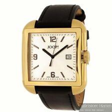 JOOP! Uhr JP100491S06 sommerliche XL Armbanduhr in schwarz gold-farbig