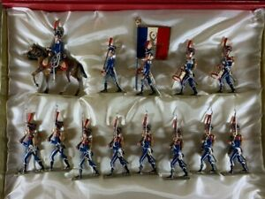 LUCOTTE Lead Toy Soldier FRENCH NAPOLEONIC RGT. D'ILLYRIE  Mint Box Mignot