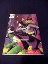 Adventures of batman robin snes Manual