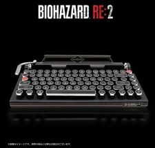 CAPCOM BIOHAZARD RE:2 Bluetooth keyboard typewriter Resident Evil japan Limited