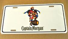 USA Auto License Plate Deko Blechschild Captain Morgan Rum Pirat